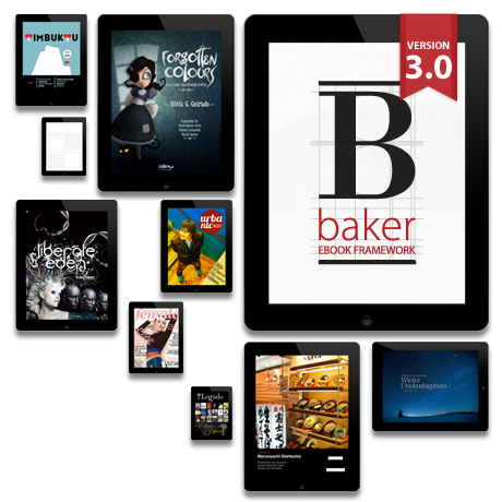 Baker ebook html5 framework