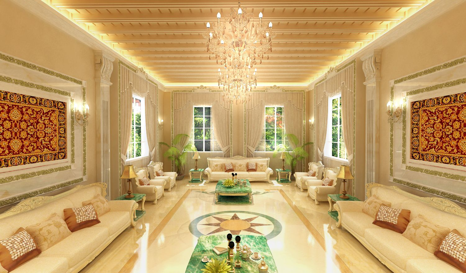 Oriental Living Room Oriental Arabian Living Room Design And Fit Out By Quantum