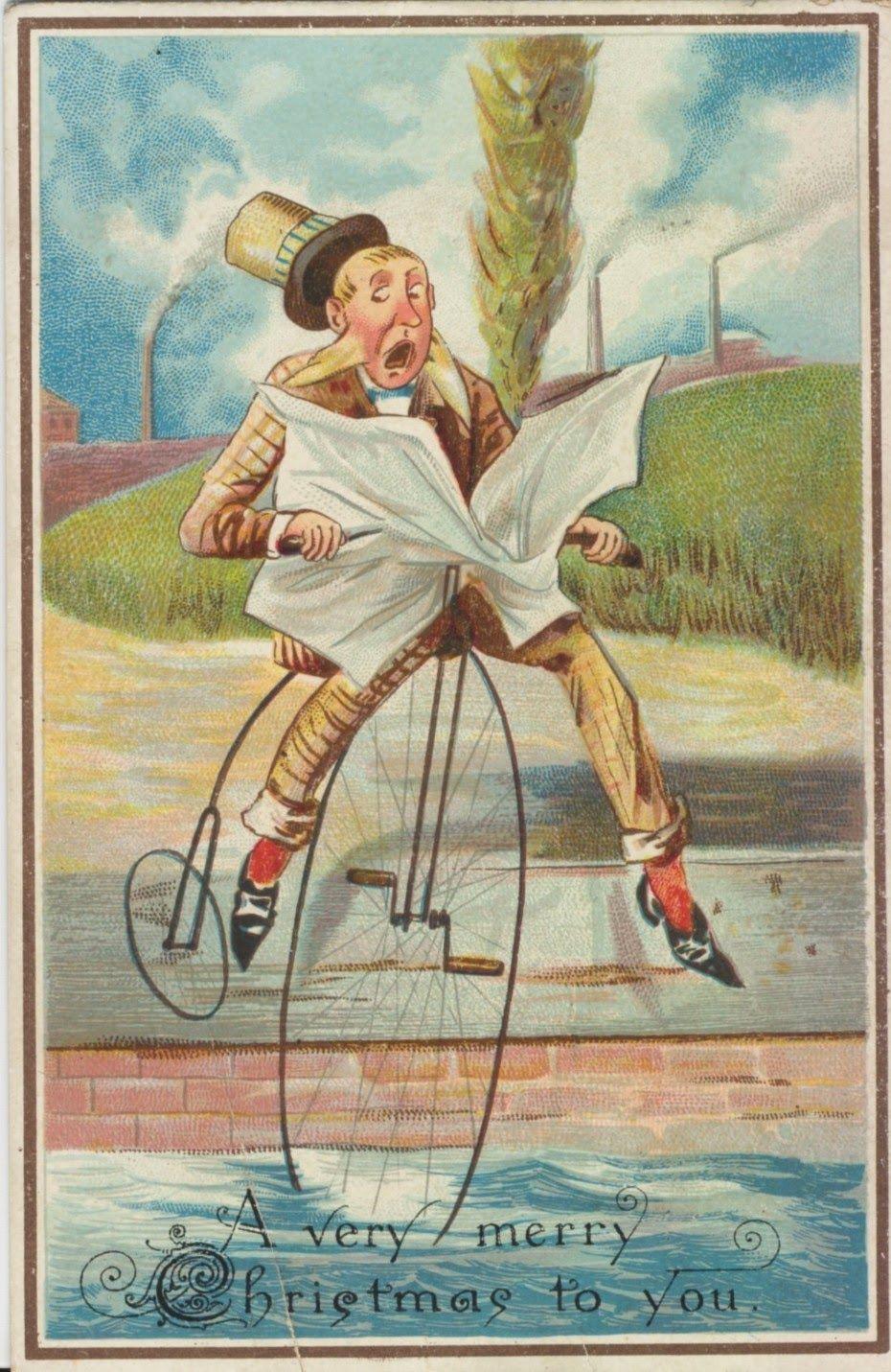 Victorian Christmas card   Oddball Christmas   Pinterest   Christmas ...