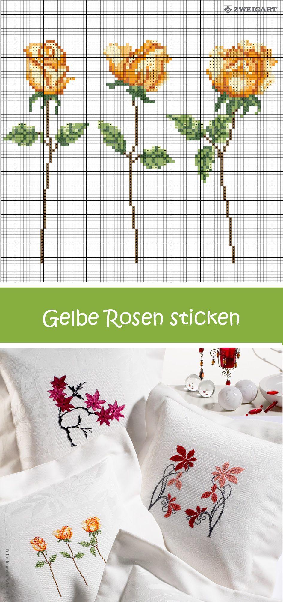 gelbe rosen sticken entdecke zahlreiche kostenlose. Black Bedroom Furniture Sets. Home Design Ideas