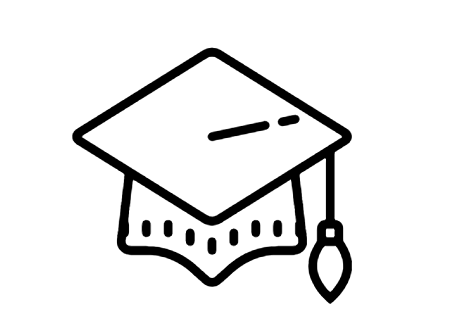 Graduation Cap Icon Graduation Cap And Other 59 100 Icons From Icons8 Icon Pack Follow The Visual Guidelines Of The O Cute Cartoon Drawings Graduation Cap Icon
