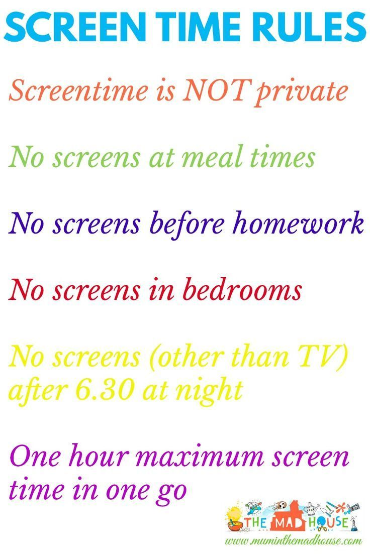 Smart screen time rules. How do you moderate or set rules regarding technology with your children? Here are some fab, achievable rules that are great.