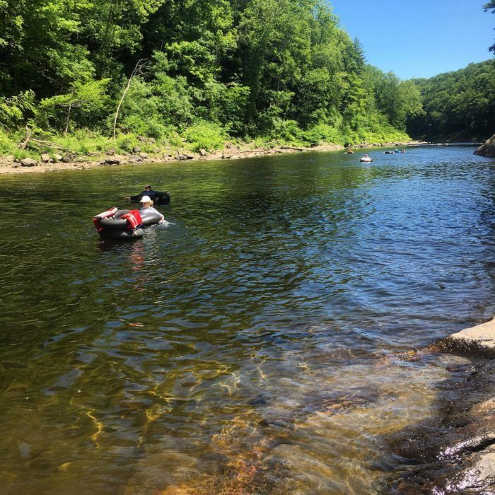 4 Lazy Rivers In Massachusetts That Are Perfect For Tubing On A