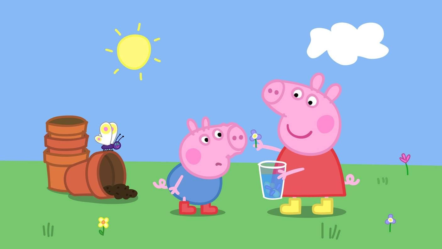 Peppa Pig Backgrounds 96 Wallpapers Hd Wallpapers