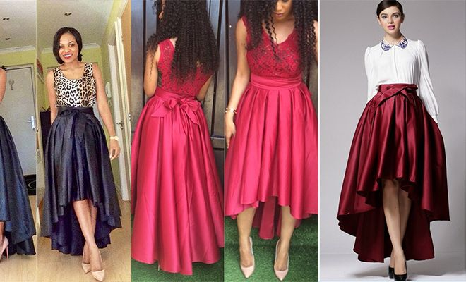 17 Best images about high-low skirts on Pinterest | African dress ...
