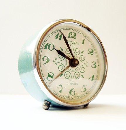 Vintage Mechanical Alarm Clock Sevani From Armenia Soviet Union