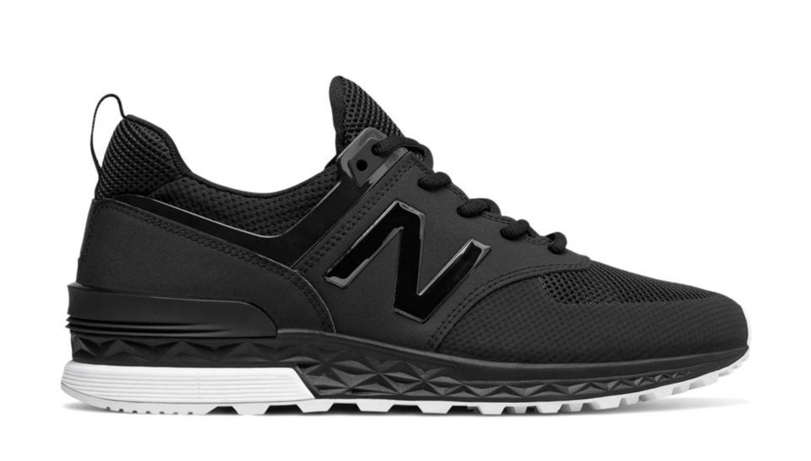NEW BALANCE 574 Men | Black (MS574SBK)