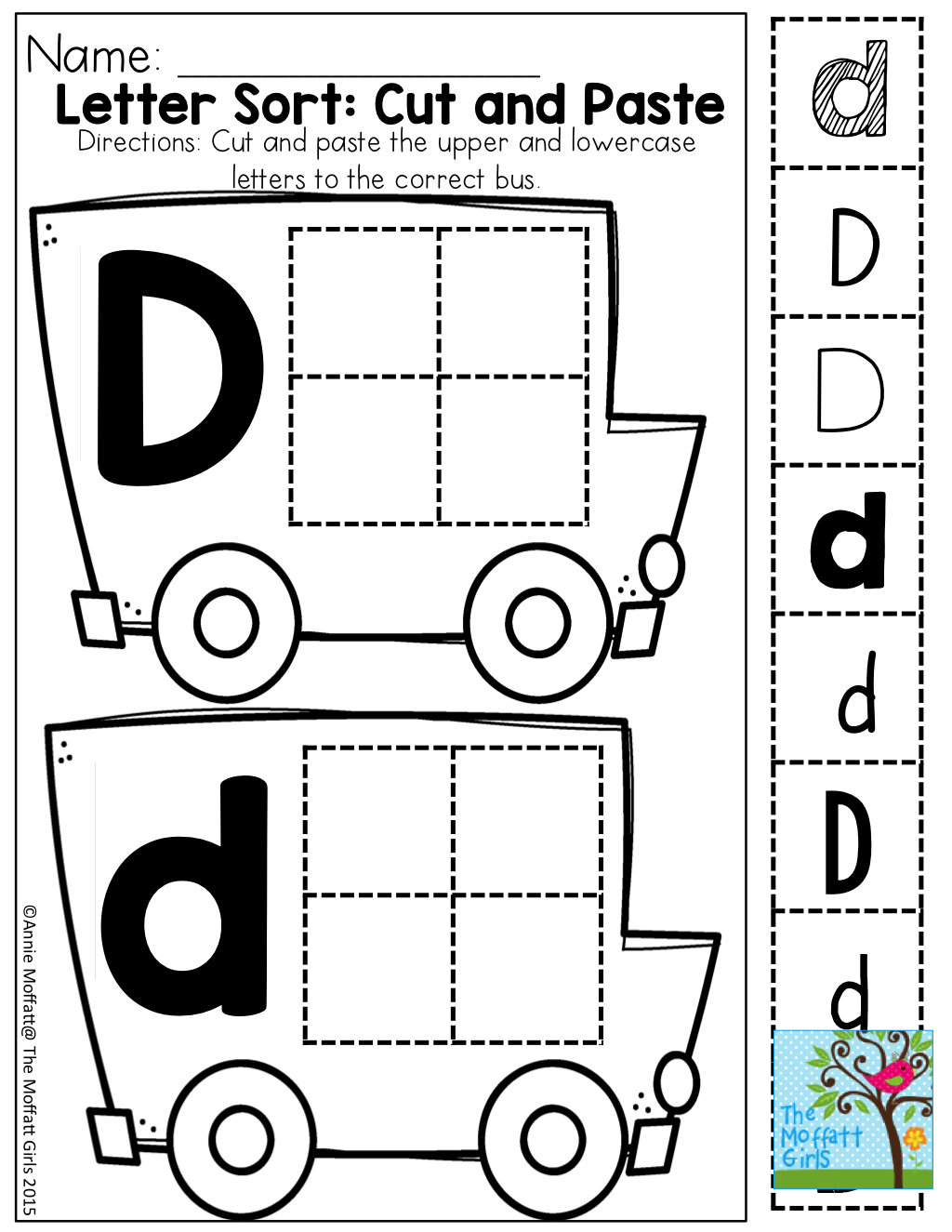 Letter Sort And Tons Of Other Great Printable Great For Building Fine Motor Skills And