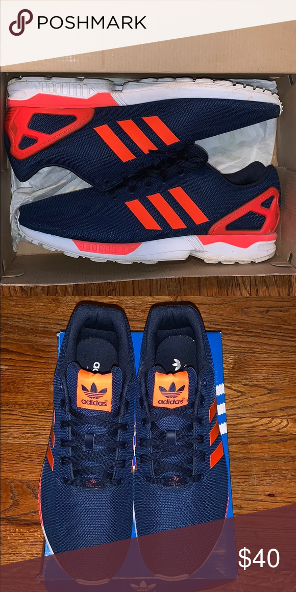 415277ddb4cf Used Adidas Zx Flux Men s adidas size 12 used but still in good condition  with box