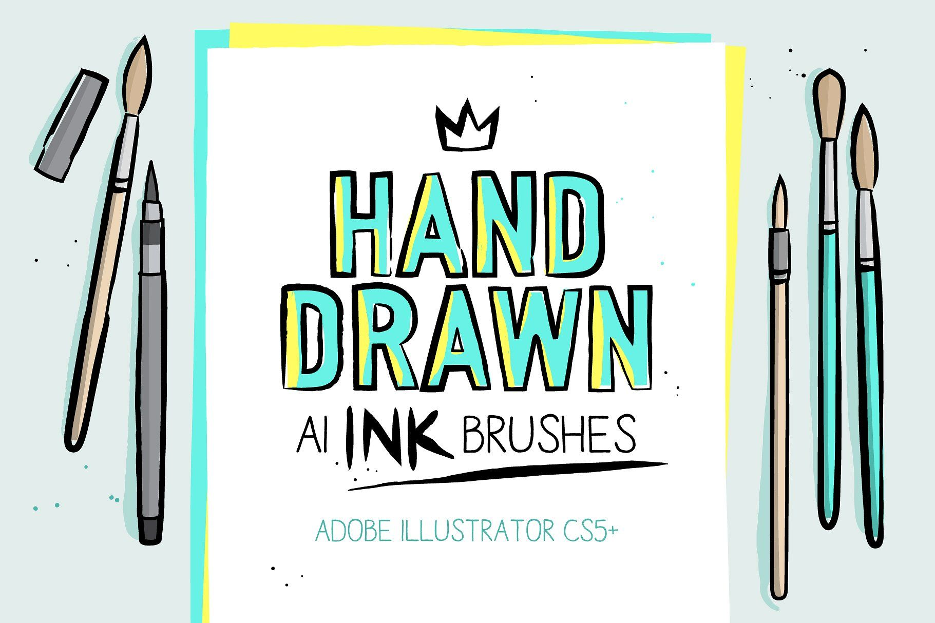 Get 10 Packs Of Ai Brushes And Graphic Styles For The Price Of 7
