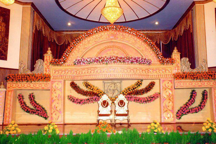 Bangalore Stage Decoration Design 381 Indian Wedding Stage