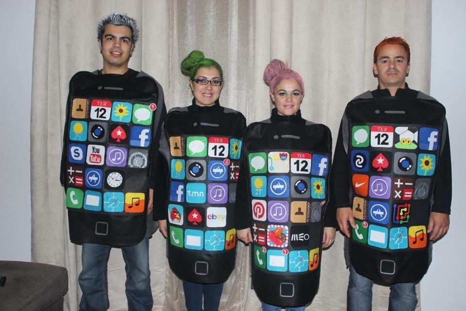 iPhone  HALLOWEEN COSTUMES felt