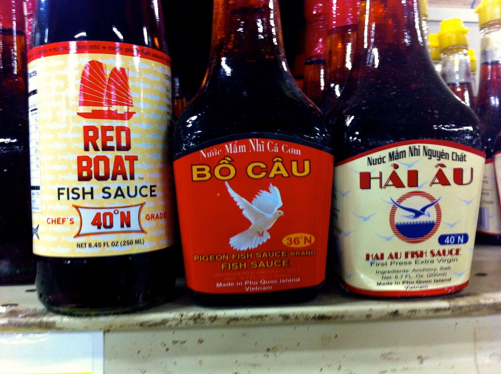 Improve The Flavor Of All Your Vietnamese Favorites Instantly With A Better Brand Of Fish Sauce Fish Sauce Sauce Fish