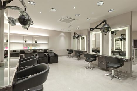 Modern Beauty Salon Interior Design Details Can Be Found By
