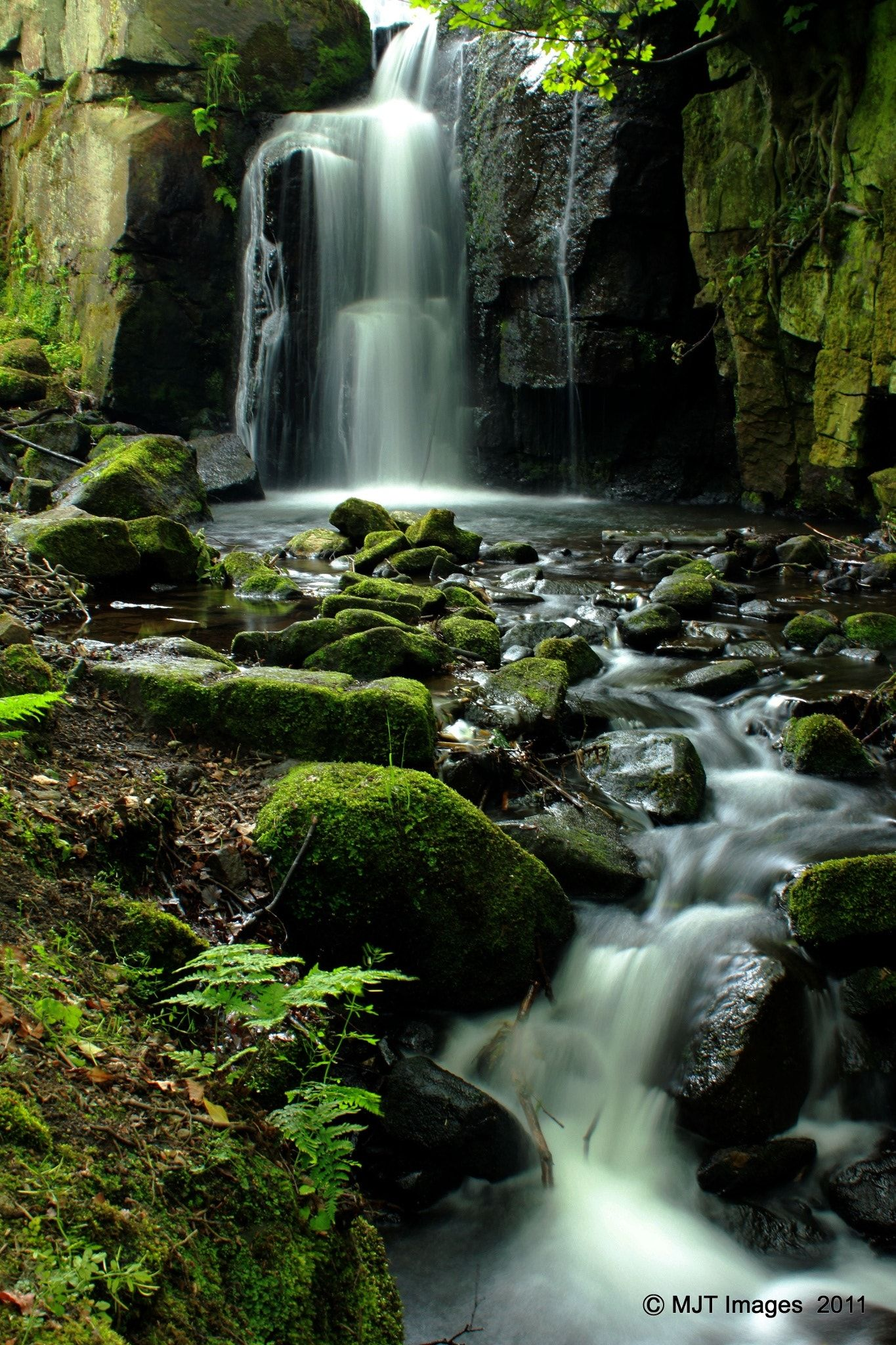 Lumsdale Falls - Taken at Lumsdake Falls, near Matlock, Derbyshire, England. landscape photography