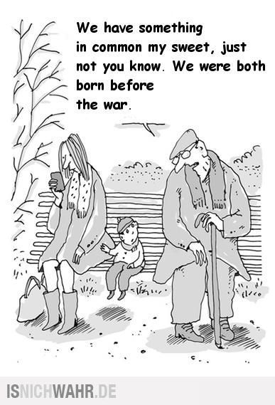 Born before the war