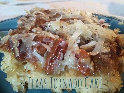Recipe: Texas Tornado Cake