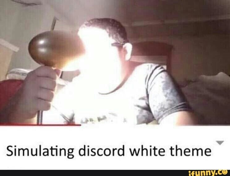 Simulating Discord White Theme Ifunny Programmer Humor Funny Memes Memes