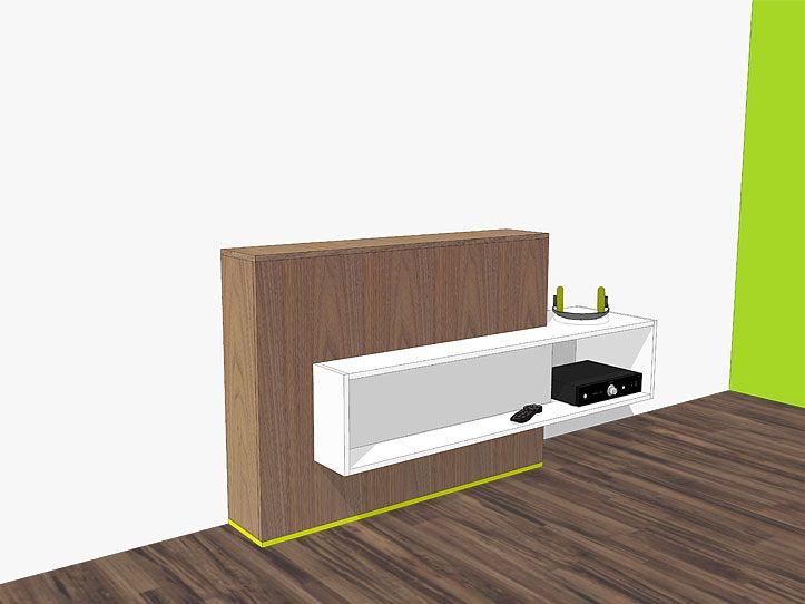 Vaak Bouwtekening TV-meubel met lift Astor | tv kast - Tv meubels UK46
