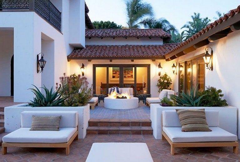 42 Magnificent Mediterranean Patio Designs That Will Replenish