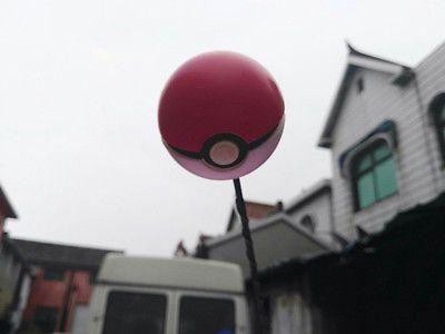 Red Pokemon Pokeball Antenna Balls Car Aerial Ball Antenna