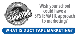 Duct Tape Marketing is the Best System for Private Christian School Marketing!