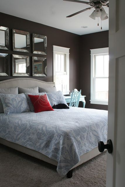 Love Love The Mirrors Above The Bed Bedrooms
