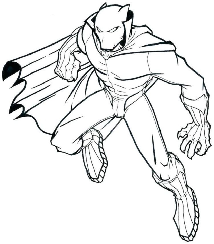 Black Panther Coloring Pages Pdf Avengers Coloring Pages Superhero Coloring Superhero Coloring Pages