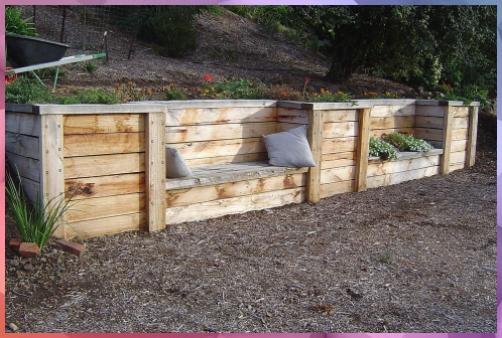 Wood Retaining Wall Under Deck Retainingwallideas Diywood Ensure A Design Wood R In 2020 Wood Retaining Wall Backyard Retaining Walls Wooden Retaining Wall