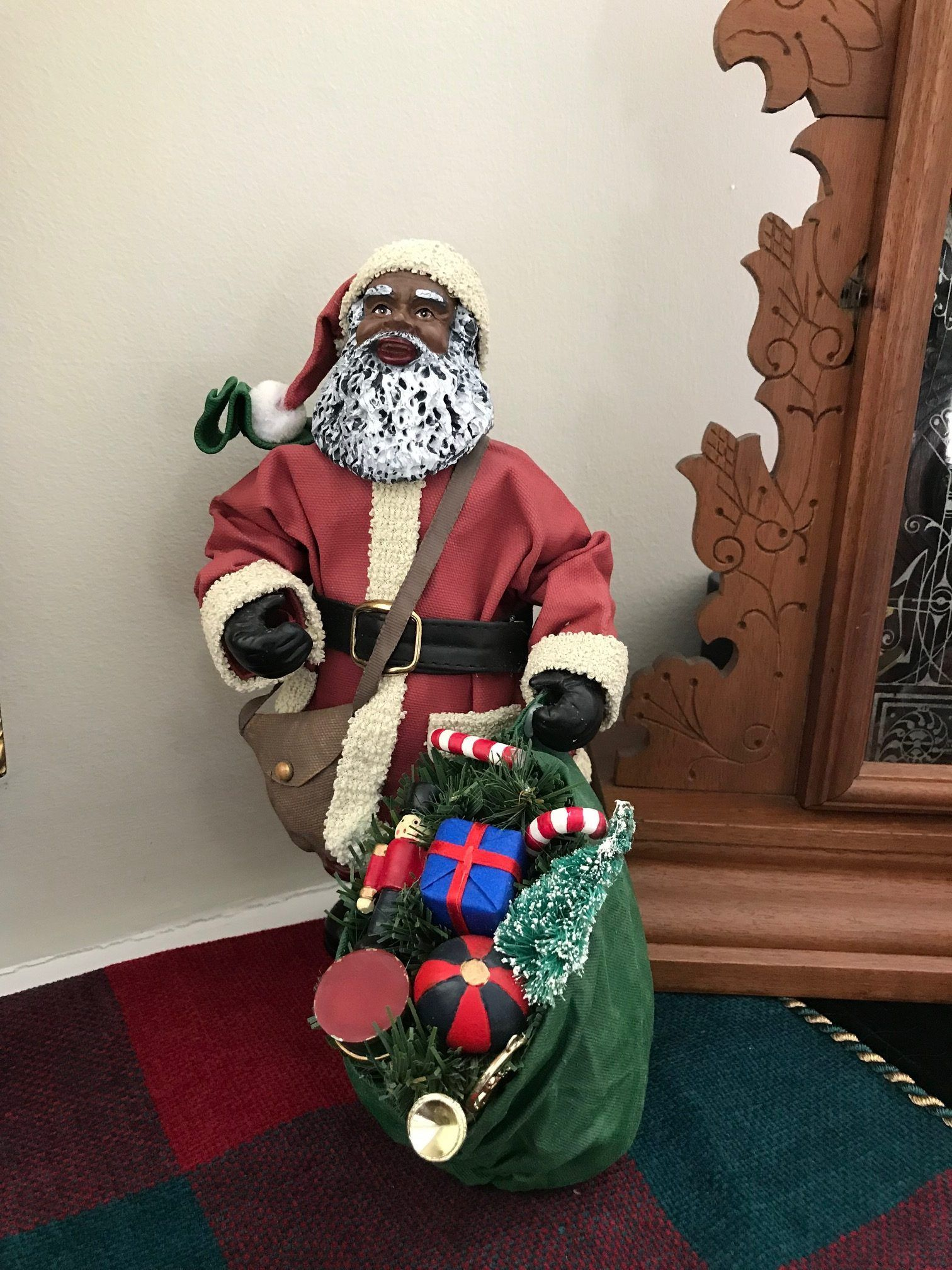 Christmas In Africa Traditions.African American Holiday Traditions Black Santa In Upstate