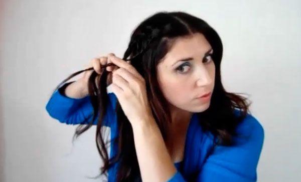 Treccia a cascata 600 9 Tutorial capelli: treccia a cascata originale