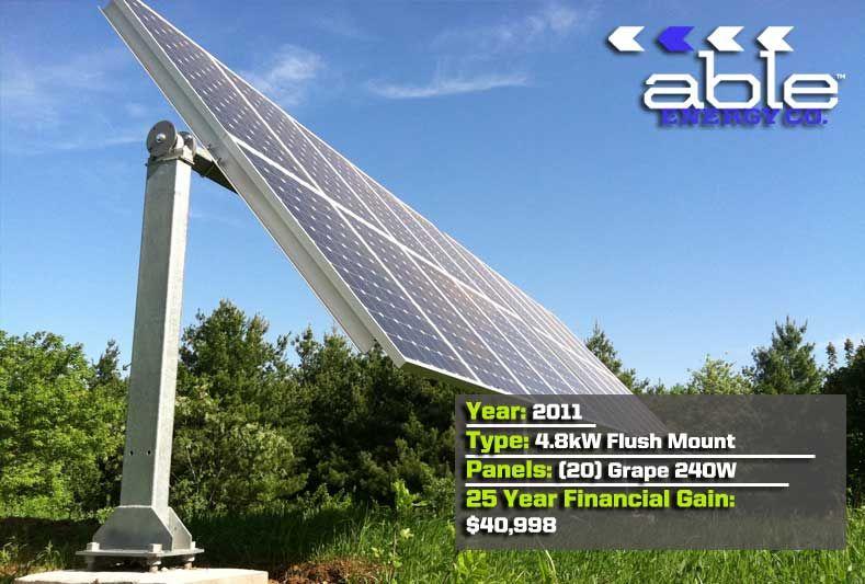 1axis solar tracker