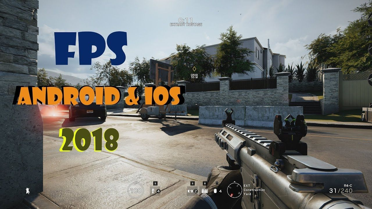 Top 20 First Person Shooter (FPS) Games for Android & Ios