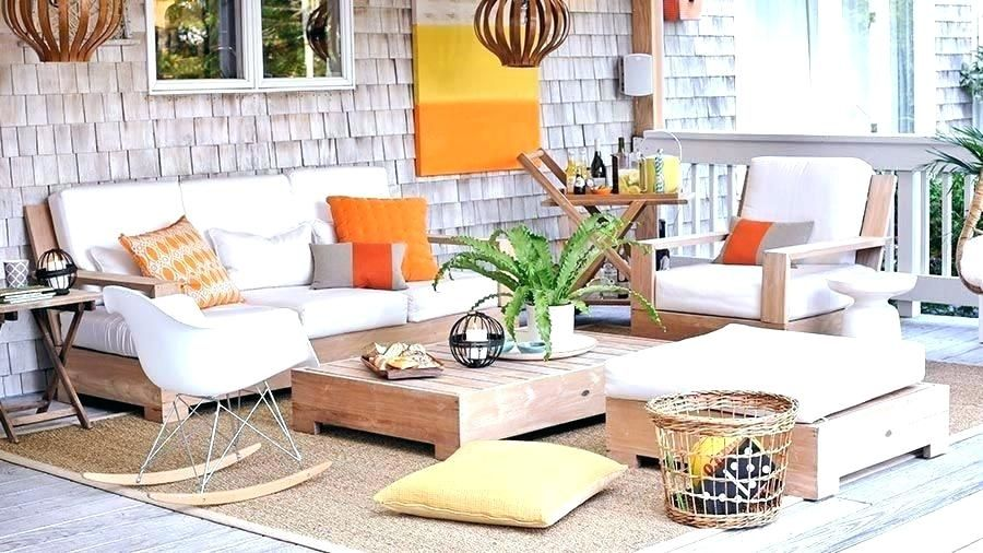 Outdoor Patio Furniture Ideas Deck Layout