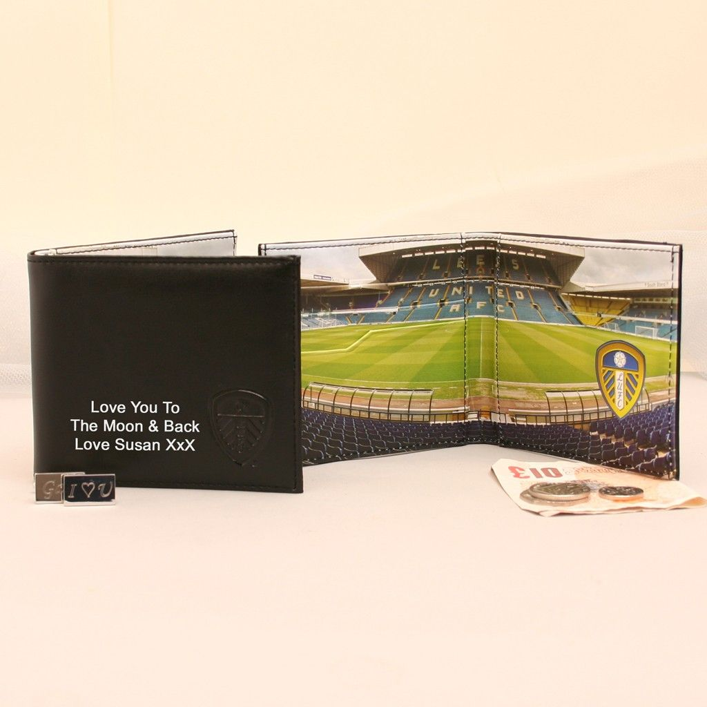 Leeds United Football Club Embroidered Wallet