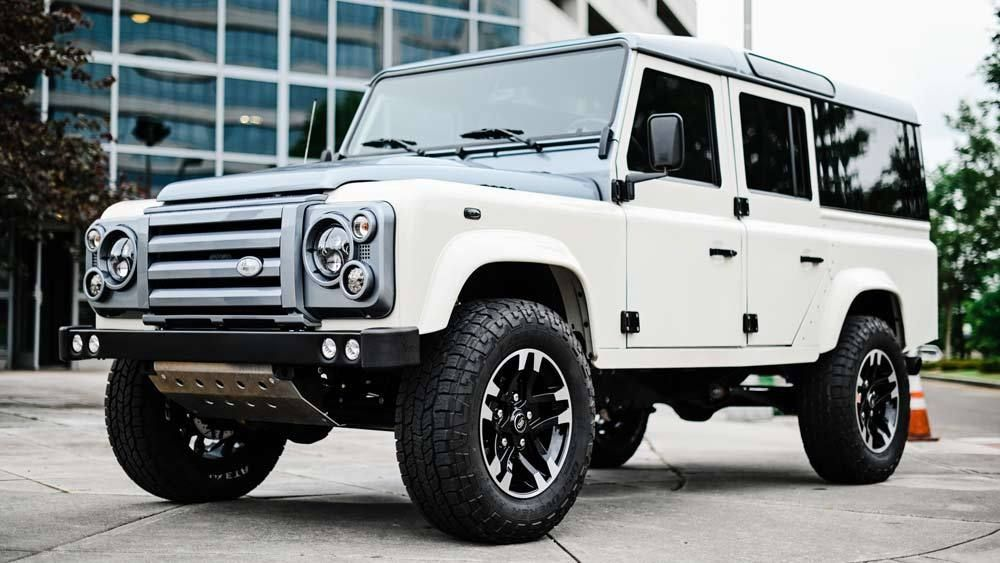Here S How And Why Osprey Custom Cars Keeps Redefining The Land Rover Defender In 2021 Land Rover Defender Land Rover Defender