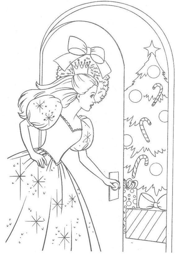 Dibujos De Barbie De Navidad.Dibujos De Navidad De Barbie Niza Regalos De Navidad 2019