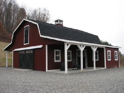 Dutch barns for sale in ohio amish buildings barns for Dutch barn shed plans