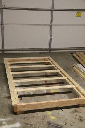 30 Pottery Barn Inspired Twin Platform Bed Diy Platform Bed Diy Twin Bed Frame Bed Frame Plans