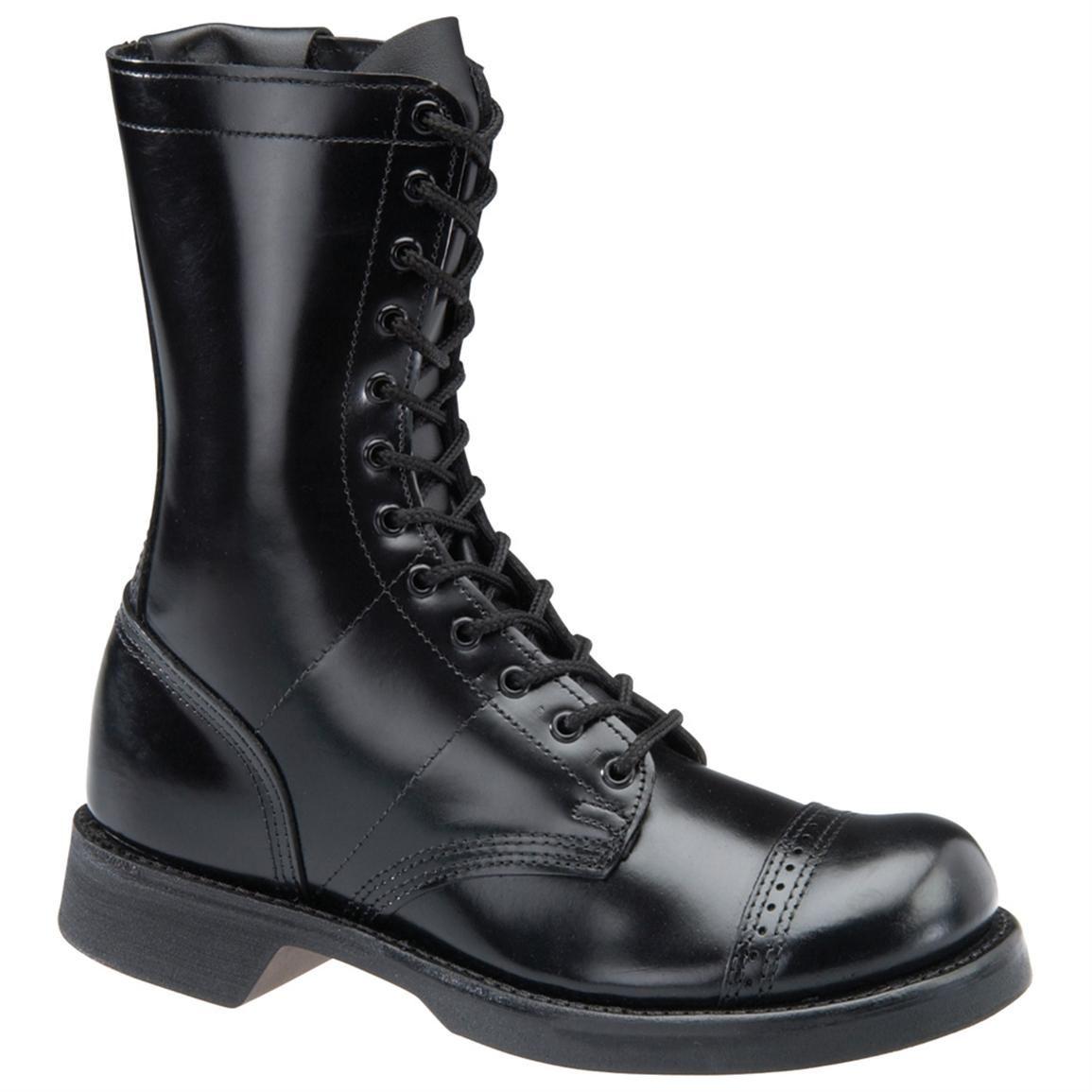 Men S Corcoran 174 10 Quot Side Zip Jump Boots Black Post Apoc