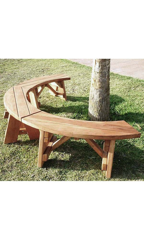 Redwood Patio Furniture Home Depot: IDEA: Redwood Outdoor Curved Bench