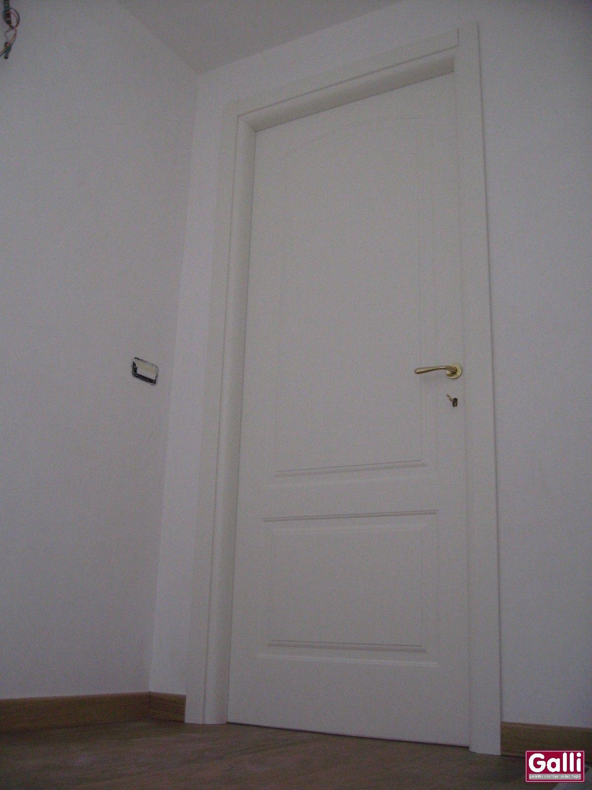Porte Laccate Bianche Garofoli Prezzi porta #interna #pantografata #bianca #laccata #ferrerolegno