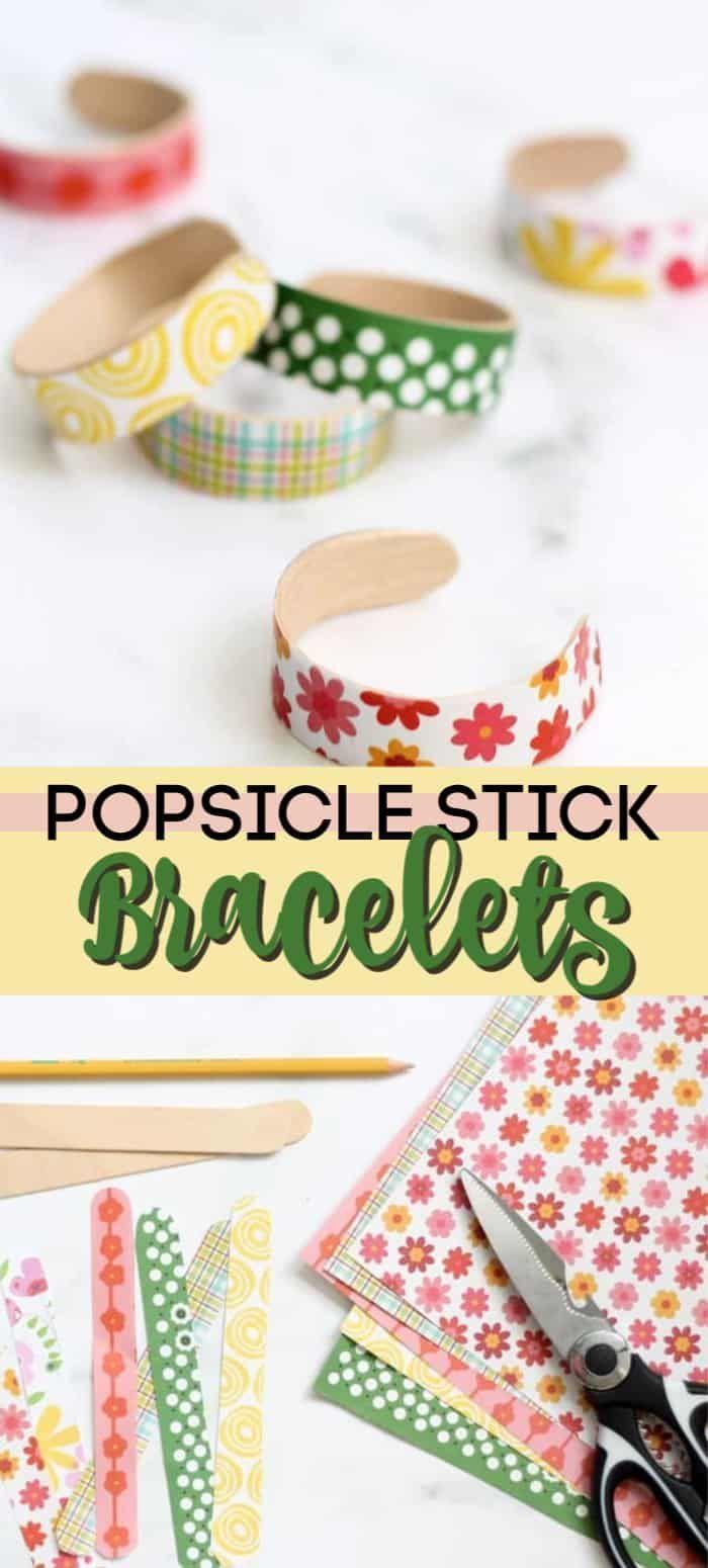Photo of Popsicle Stick Bracelets: a budget-friendly, DIY jewelry idea