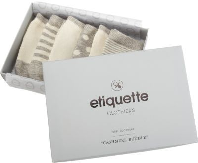 Etiquette Cashmere Sock Bundle at Barneys New York