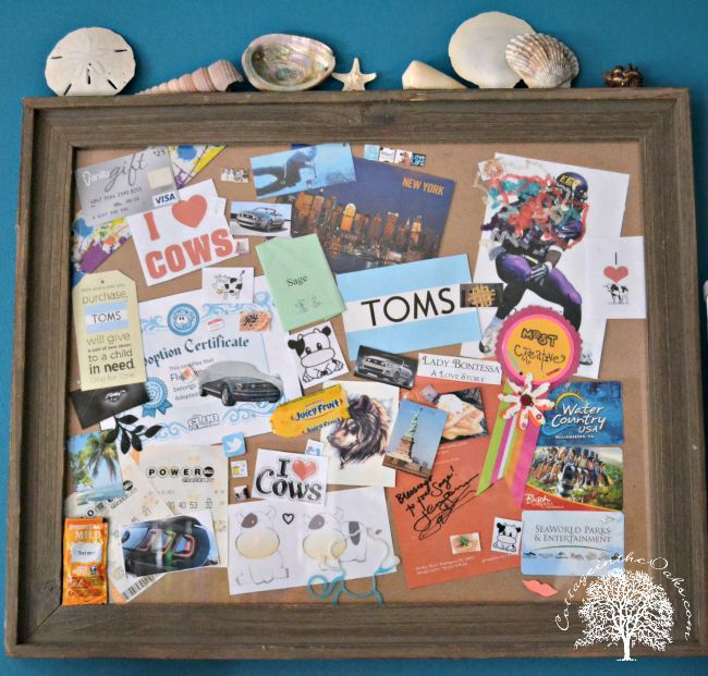 Teen room decor collage art crafts for teens for Diy bulletin board for bedroom