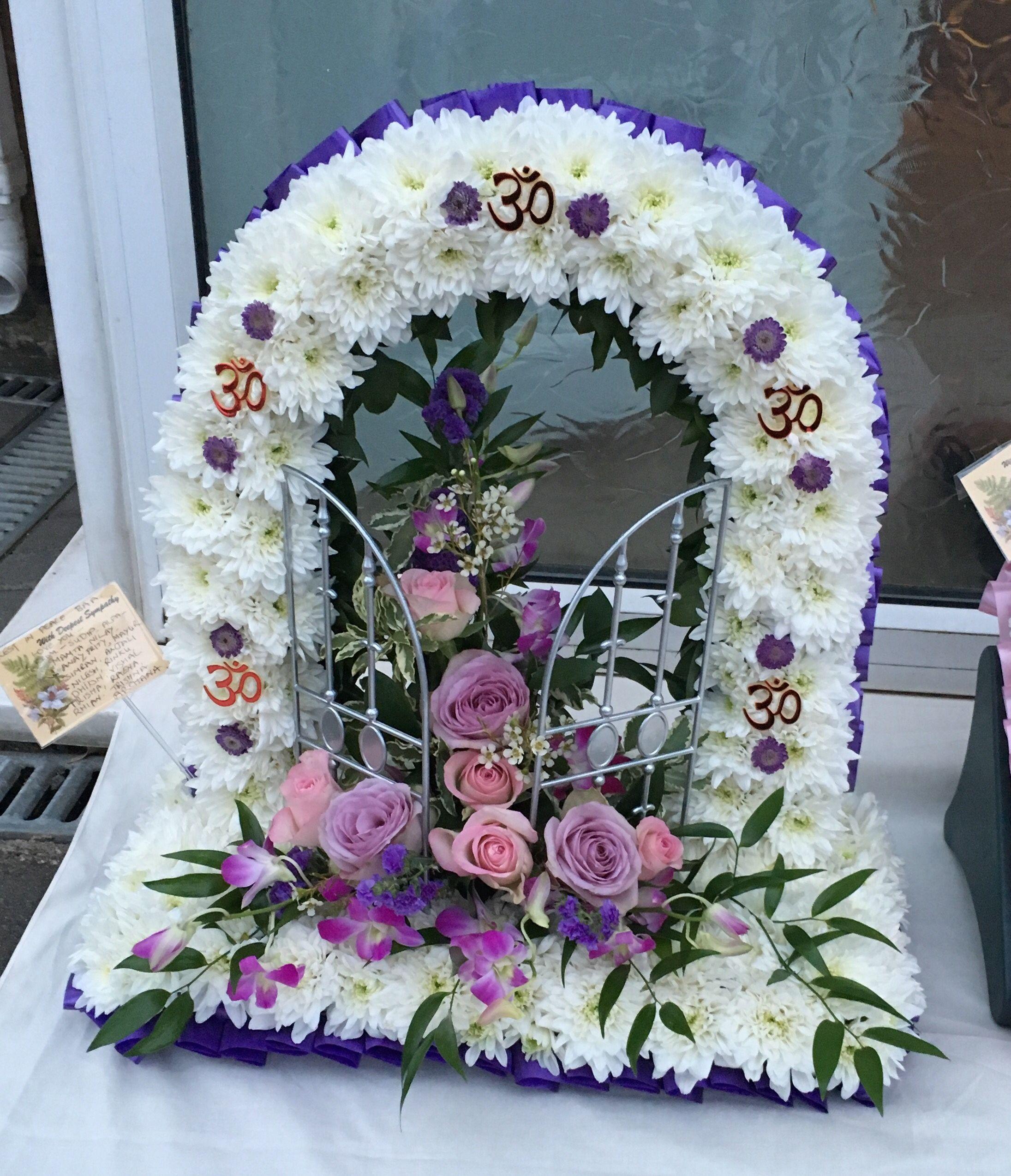 Pin by kamlesh vadera on funeral flowers pinterest funeral flower izmirmasajfo