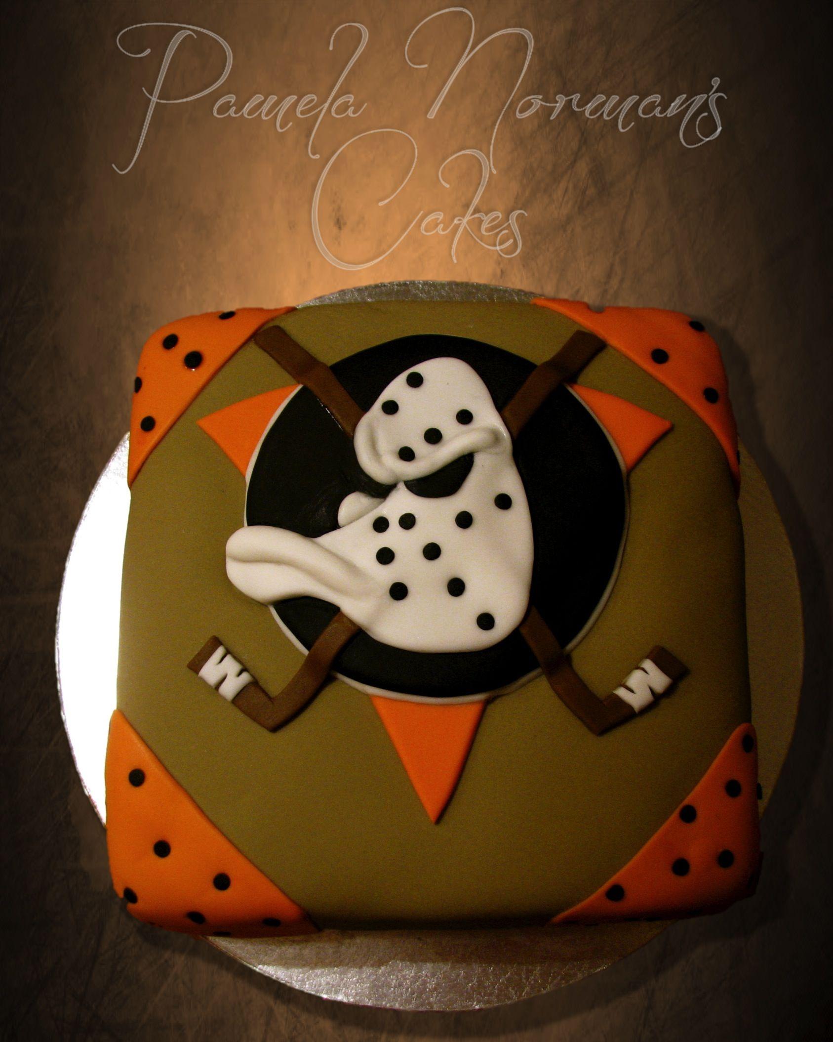 Mighty Ducks' Cake
