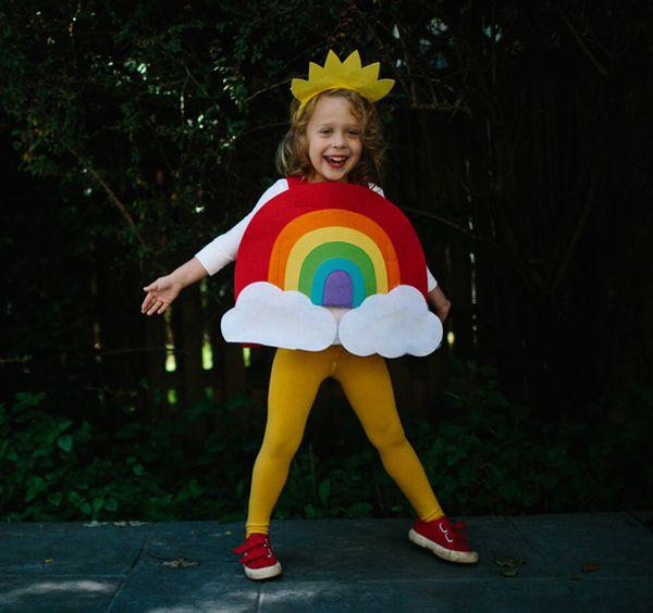 Kids Rainbow Halloween Costume | ♡ Halloween Fun ...