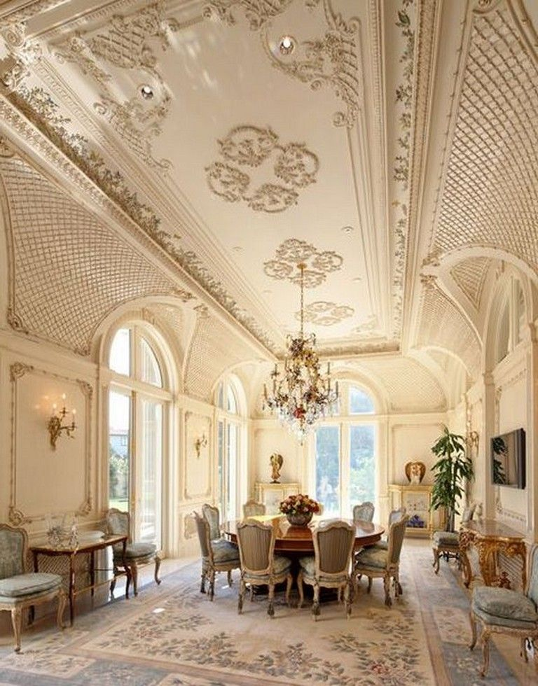 Luxury Dining Room Furniture: 18+ Luxury Dining Room Ideas With French Style