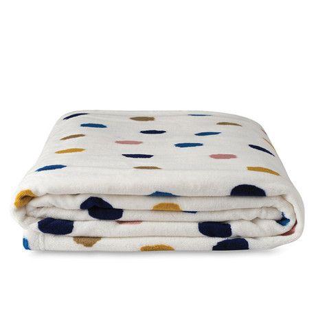 Citta Design Palette Throw - White/Multi www.furnish.co.nz